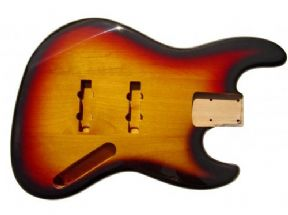 JAZZ BASS BODY 3 TONE SUNBURST
